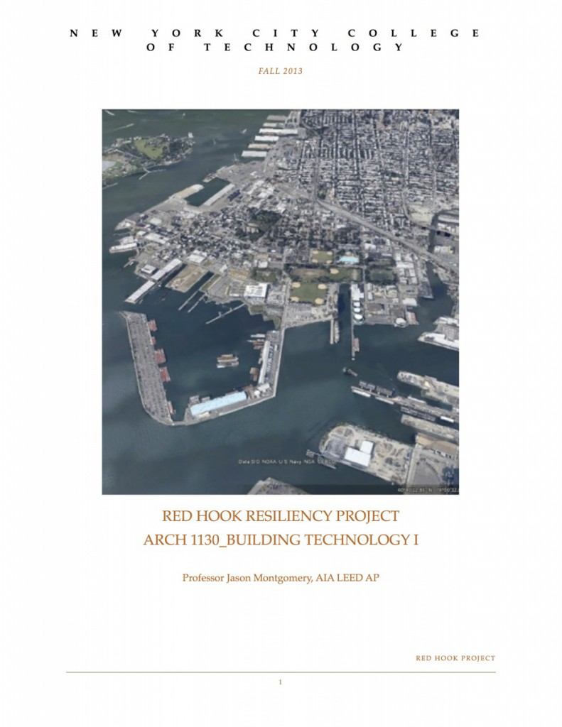 Red Hook Project Proposal_cover