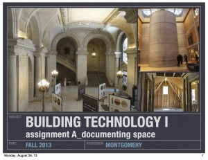 arch 1130_building tech I_assignment A_2013_02_fall