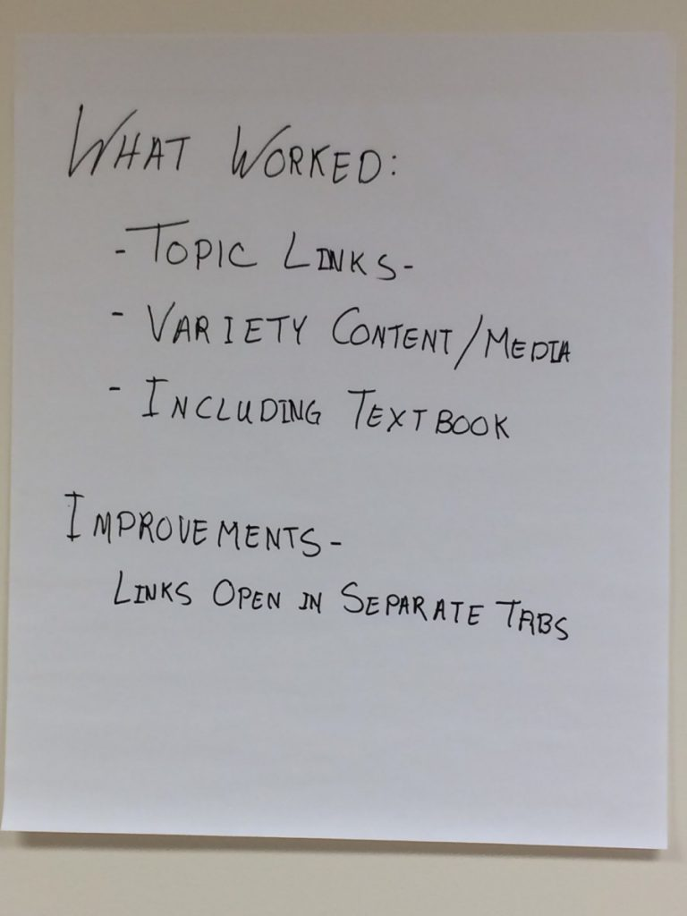 picture of group notes