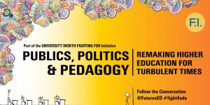 Poster for FI Event-Publics, Politics, Pedagogy