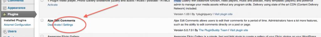 ajax edit comments screenshot 2