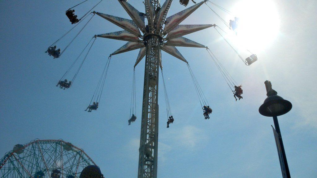 Brooklyn Flyer ride at Coney Island