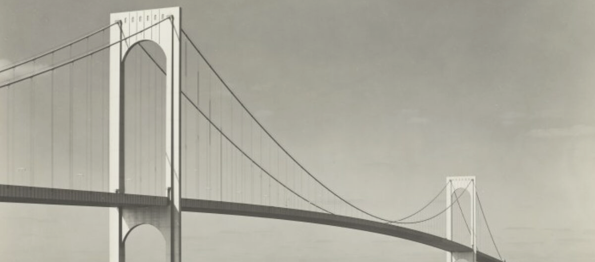 Header image for Learning Places, a bridge extending over a river.