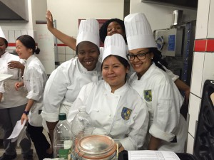 Meanwhile in the culinary lab… SMILE!!