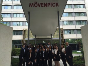 Starting our tour at the Movenpick Hotel. This awning was replaced to go along with the new design concepts that the Movenpick had for this hotel.