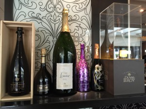 The Movenpick offers over 70 varieties of Champagnes.