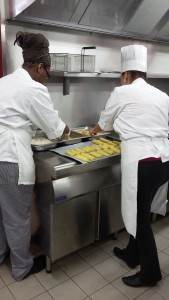 Getting busy with them potato croquettes, so delicious