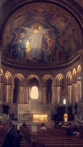 Inside of Sacré-Coeur