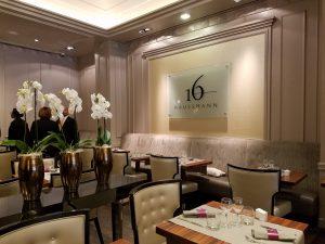 Hotel Ambassador's restaurant Haussmann 16
