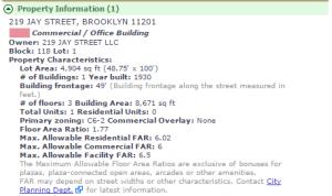 dumbo health club zoning
