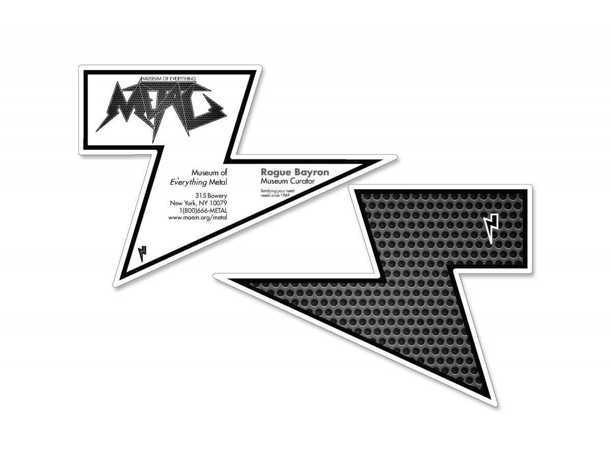 MetalMuseum Business Cards