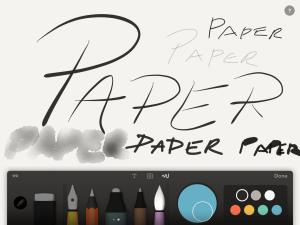 Paper, paper, paper.