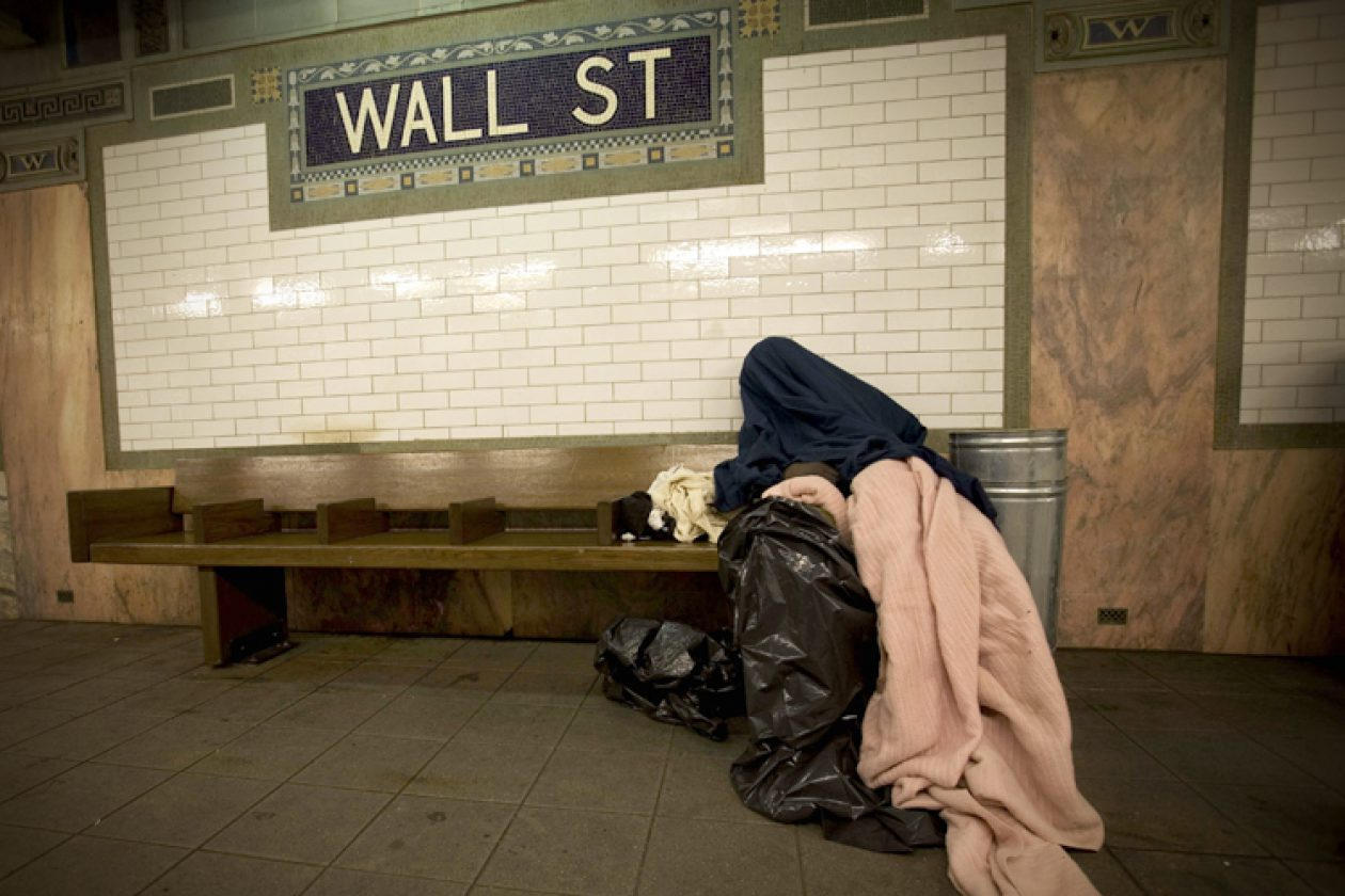 Image result for homeless crisis nyc""