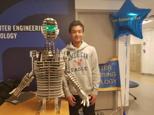RoboQueen welcomes CityTech CET open house visitors