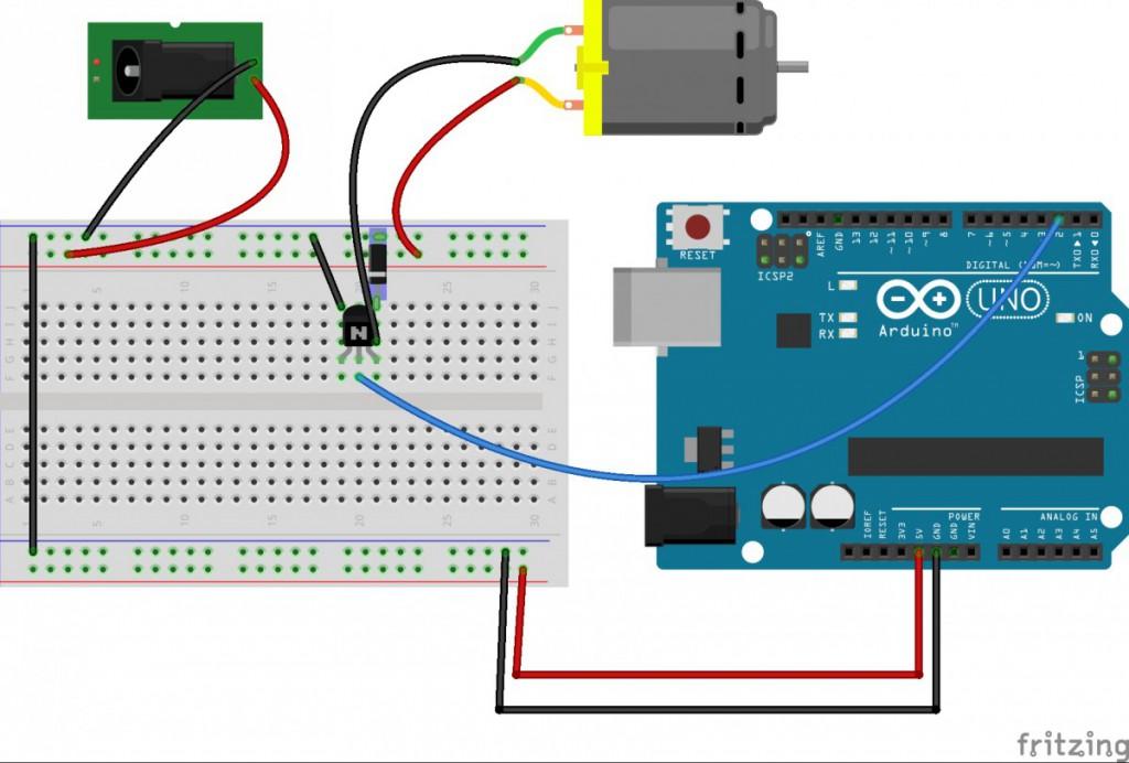 motorTransistor
