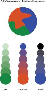 split-complementarypalette project