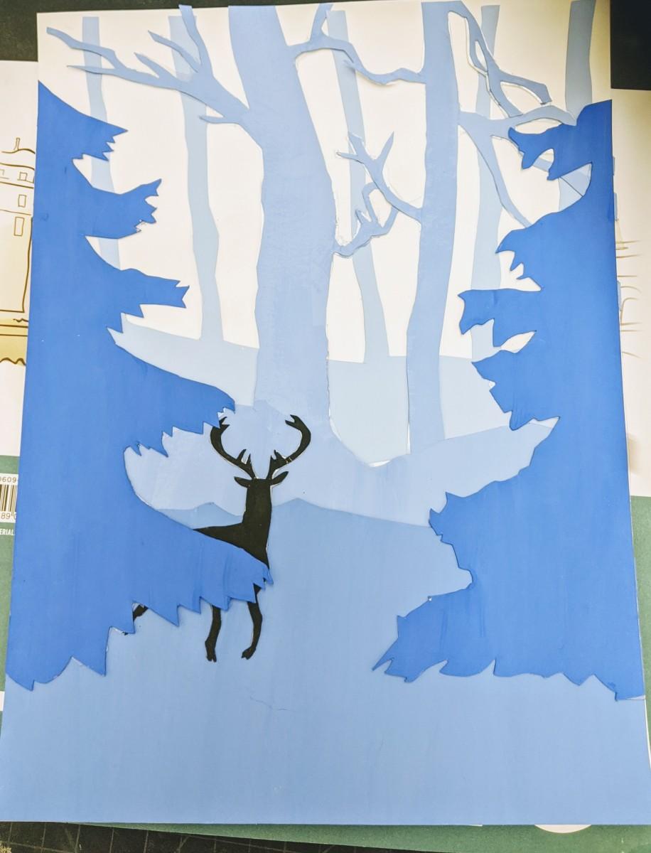 Deer winter