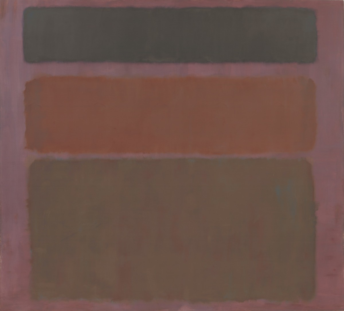 Mark Rothko No. 16 (Red, Brown, and Black) 1958
