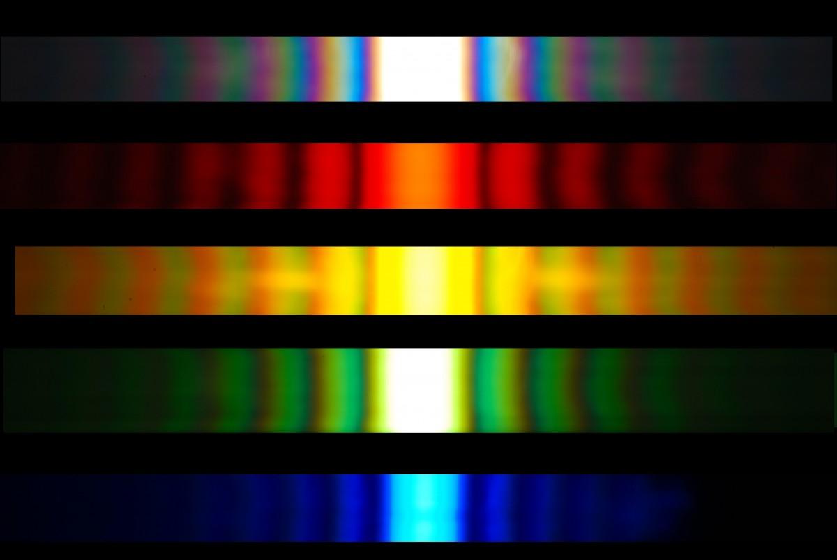 Slide like color show
