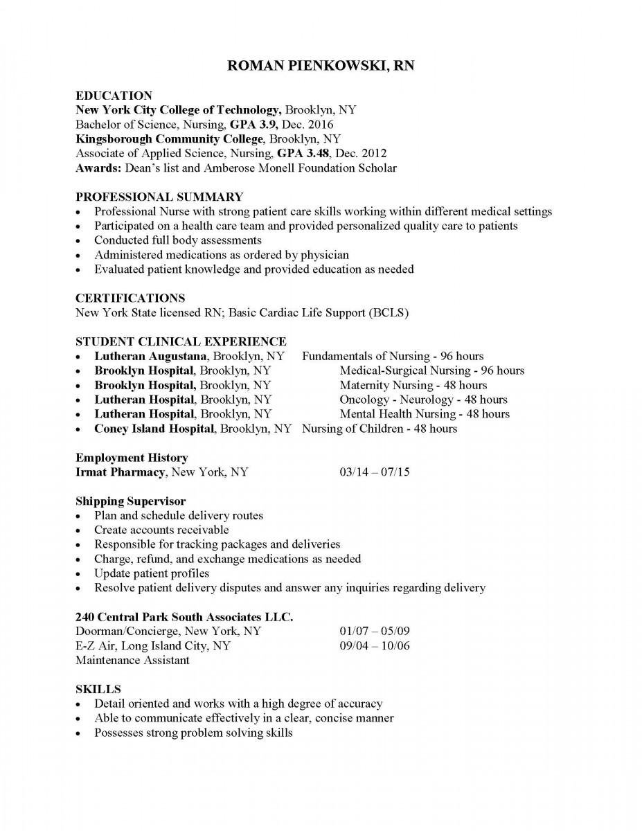 roman-resume-eportfolio