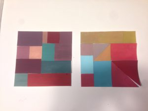 Muted Color Studies - Exercise# 1 & 2