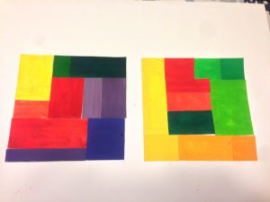 Prismatic Color Studies - Exercise# 1 & 2