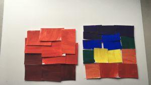 Prismatic Color Studies – Exercise #1 & 2: