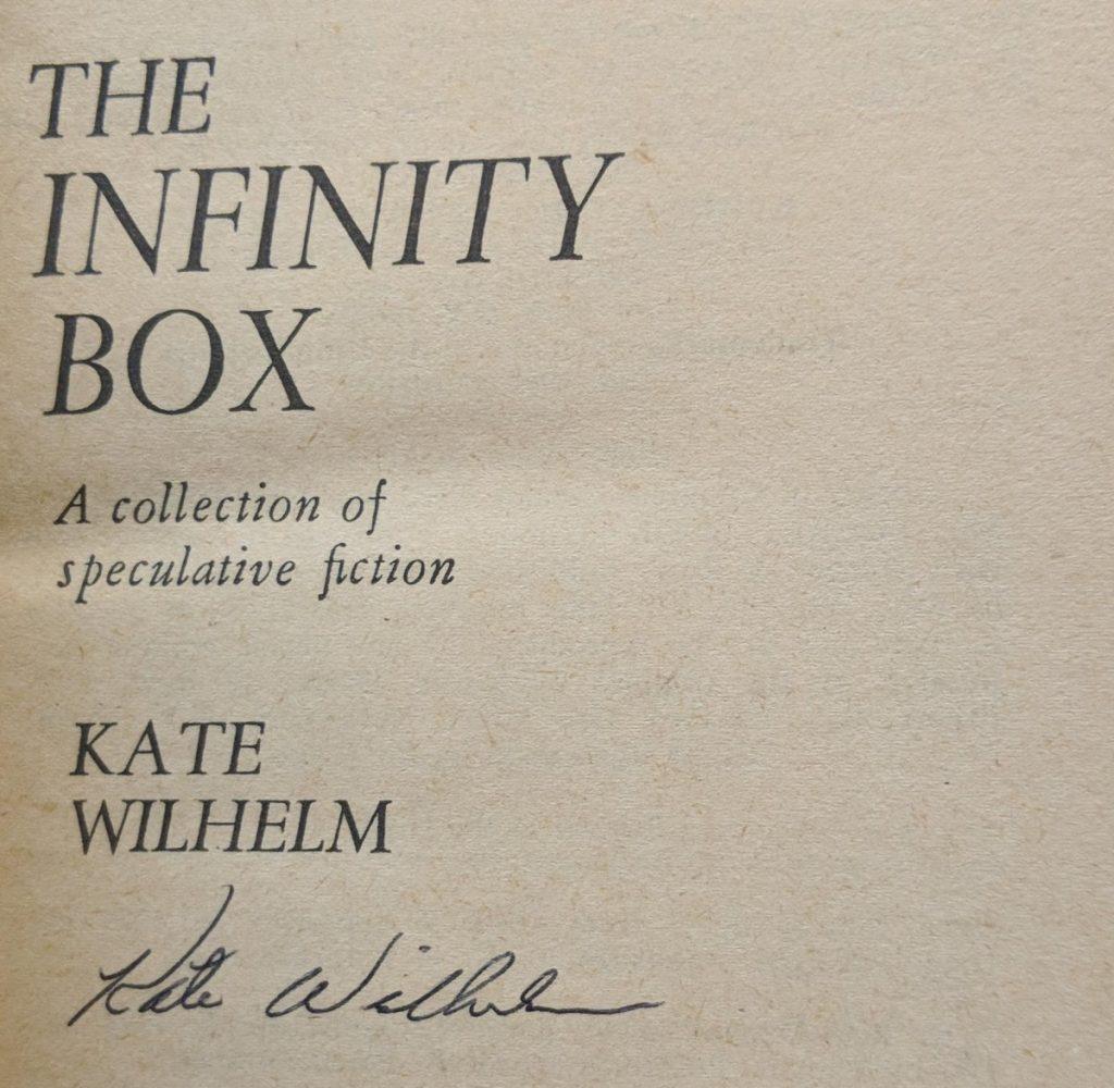 Kate Wilhelm autograph