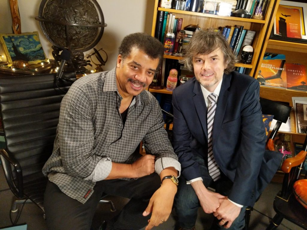 Neil deGrasse Tyson and Jason Ellis.