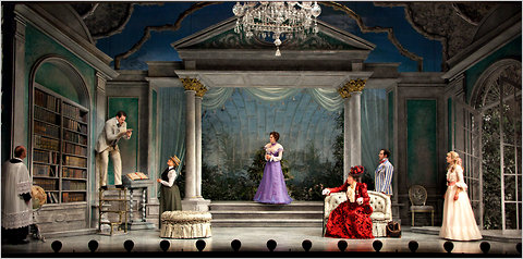 Importance of Being Earnest at the American Airlines Theatre for RoundAbout Theatre Co