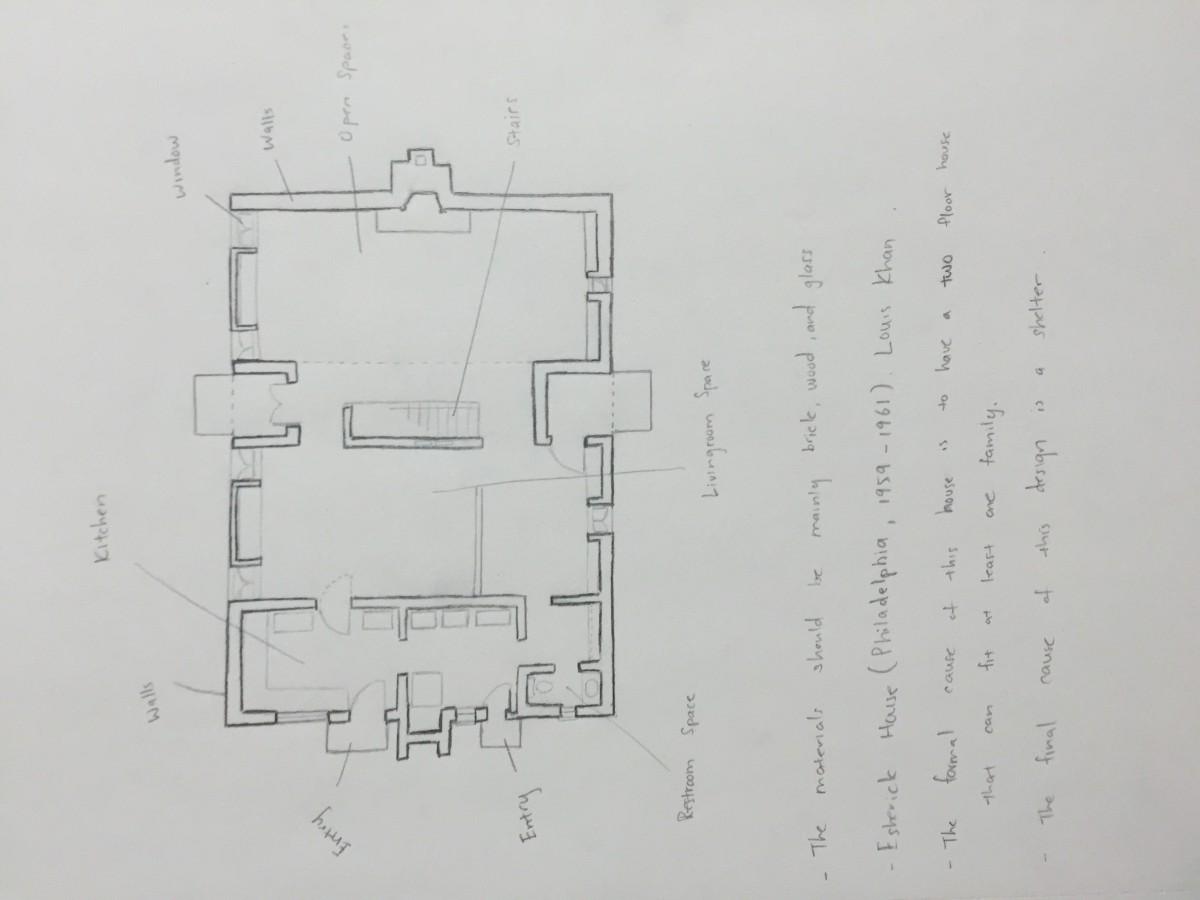 Floor Plan Assignment | Shi Long Yang\'s Sketchbook