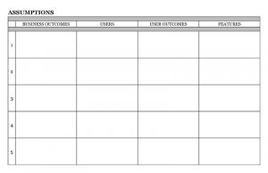 Click to download assumptions worksheet