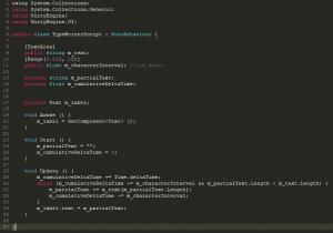TypeWriterScript