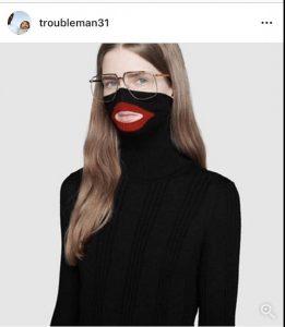 """Black face"""