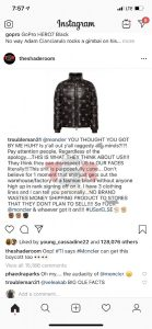 This is a prime example of the higher class white american teasing black american. The conflict in this situation is Moncler, a popular high class brand has a high percentage of African Americans wearing their products. Monclear then goes on to defend their self by stating the outlined face on the puffer coat is part of a group of characters attached to their brand. Even if the characters are part of a collection, it's obviously controversial when it come to outlining a jim crow face on anything black. Moncler It screams black face. Is it possible that Moncler will see a decline in African American consumers, or will the company pay famous artists to start wearing their brand?. Should Moncler discontinue their characters for ever?, or how would they gain revenue after releasing such a racist product?