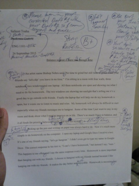 Narrative Essay Final Draft Safayet Toaha S Eportfolio