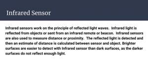 Slide 15 - Infrared Sensor