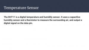 Slide 17 - Temperature Sensor