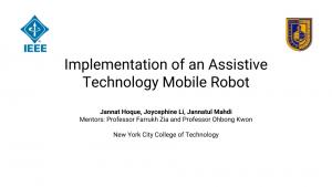 Slide 1 - Assistive Technology Mobile Robot