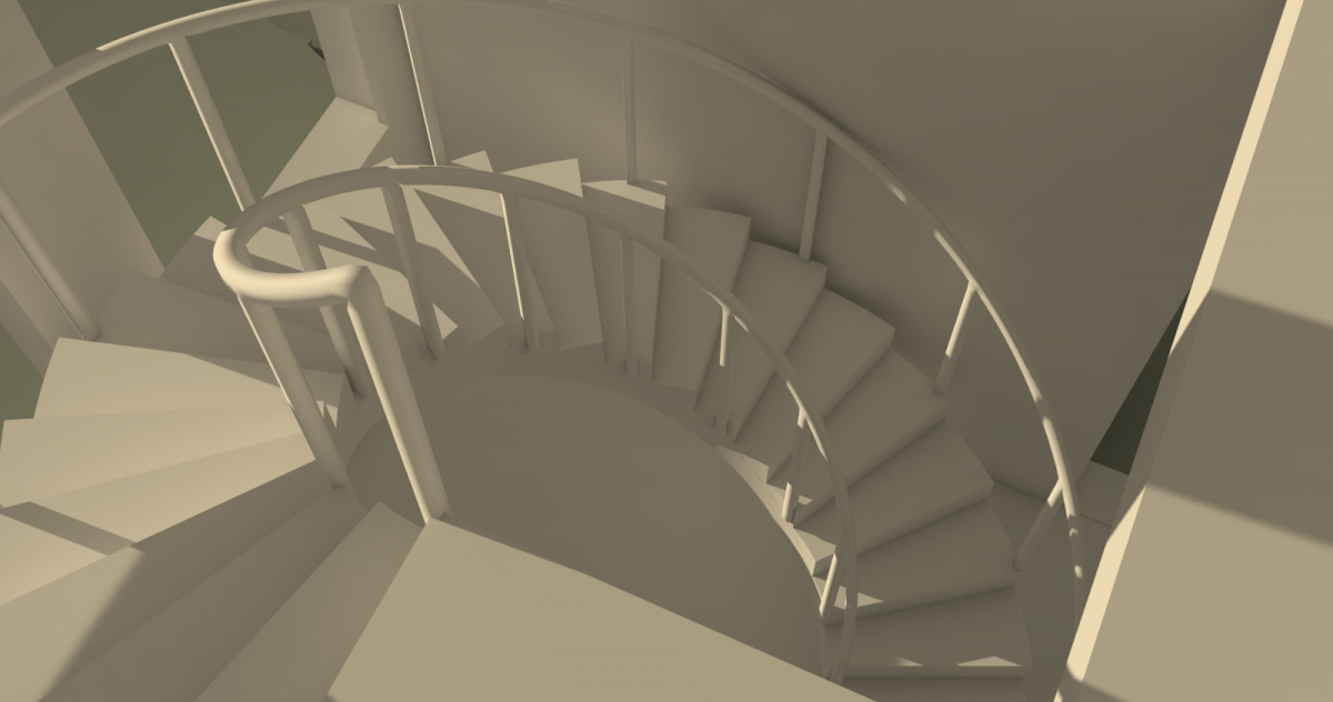 Stair view 3
