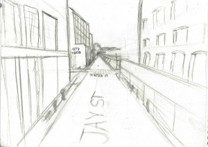 Jay street sketch