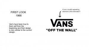 The first Vans logo