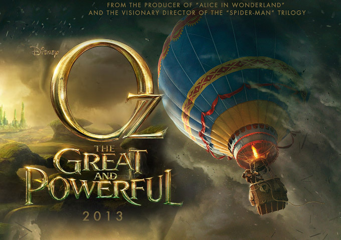 "poster for ""OZ: THE GREAT AND POWERFUL"""