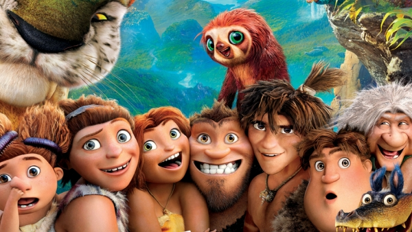 cartoon characters from The Croods