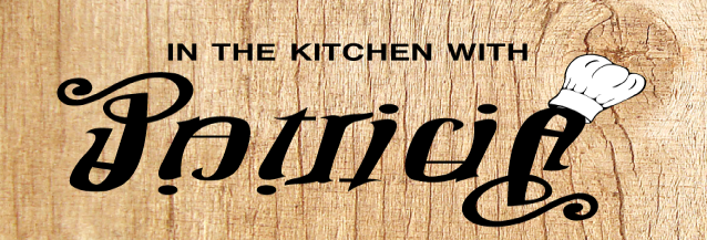 "logo: ""In the kitchen with Patricia"""