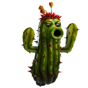 a video game cactus