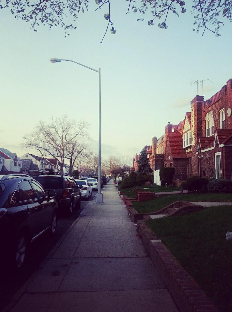 a sidewalk