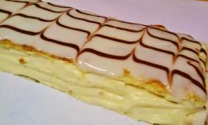 Homemade Vanilla Napoleon