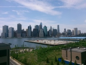 new york skyline landscape