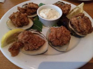 Breaded Baked Clams